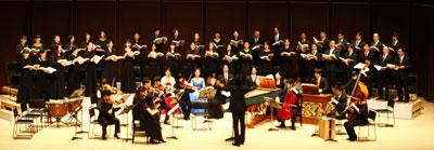 マヨラ・カナームス東京(東京の合唱団と古楽器オケ)