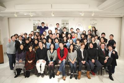 合唱団みんなで記念写真(東京・渋谷)